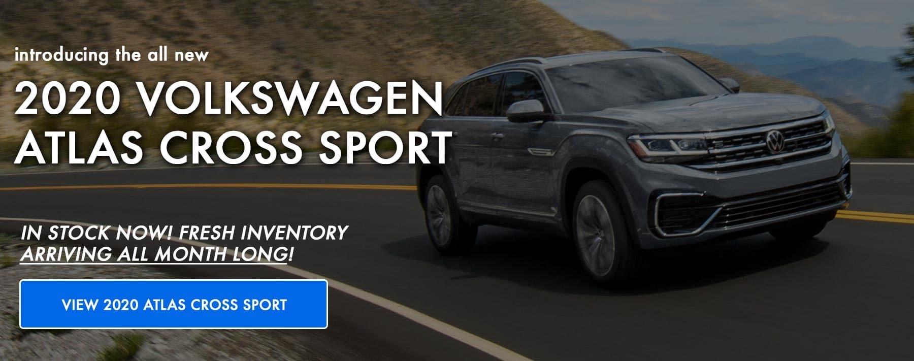 View the all new VW 2020 Atlas Cross Sport