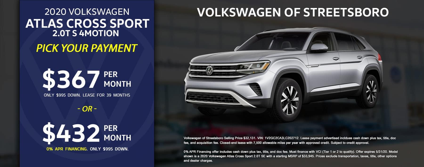 2020 VW CrossSport - May 2020