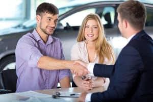 Car and Salesman