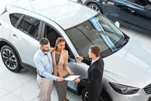 Getting a car paperwork