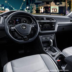 Volkswagen Tiguan Interior South Jordan, UT