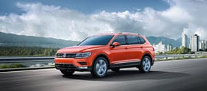 Volkswagen Tiguan Orange