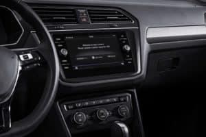 Volkswagen Tiguan Dash