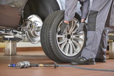 Volkswagen Tire Service Image