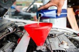 Mechanic oil change