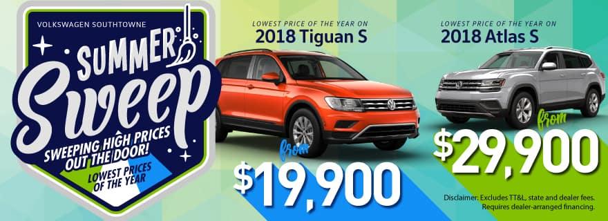2018 Atlas S Tiguan S