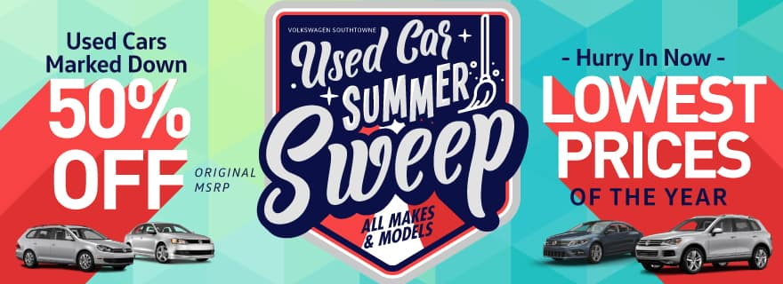 Summer Sweep Used Car
