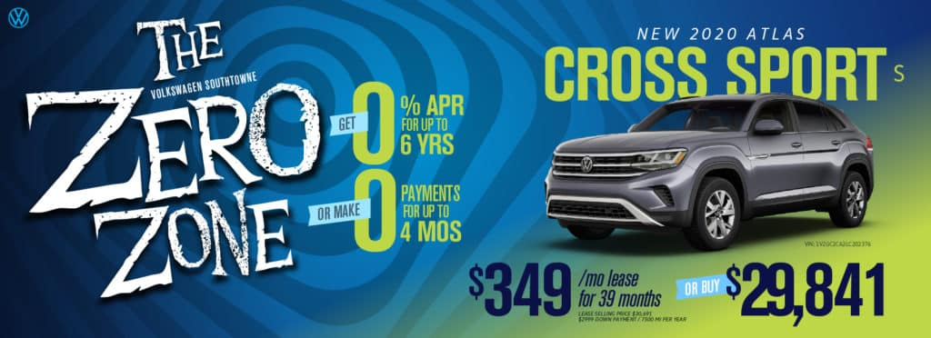 Get 0.9% APR for 6 years OR ZERO payments for 4 months at Volkswagen SouthTowne