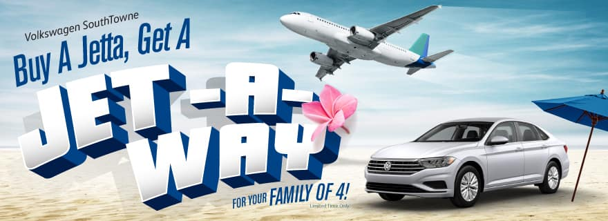 Buy a Jetta, get a Jet-a-Way at Volkswagen SouthTowne!