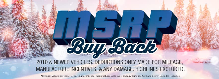 Volkswagen SouthTowne will buy your vehicle for its original base MSRP!