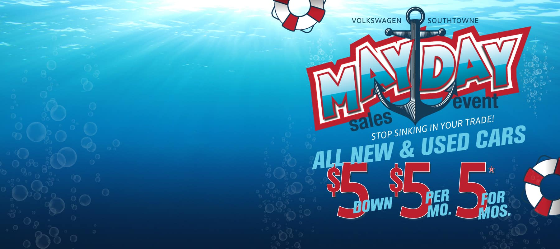 Don't miss our famous 555 MAYDAY brought back for a limited time!
