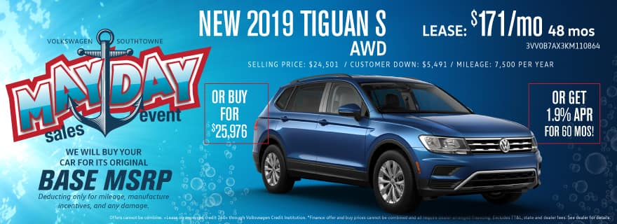 HUGE Selection and SALE on 2019 Tiguan models!