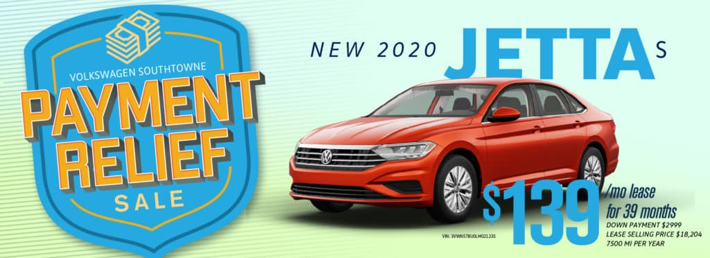 Get Payment Relief at Volkswagen SouthTowne