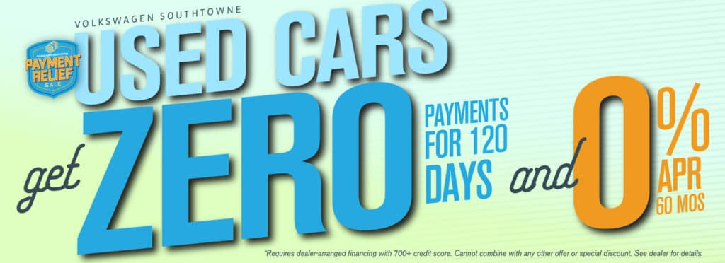 Get as low as 0% APR for up to 60 mos on used cars - and no payments for up to 4 mos