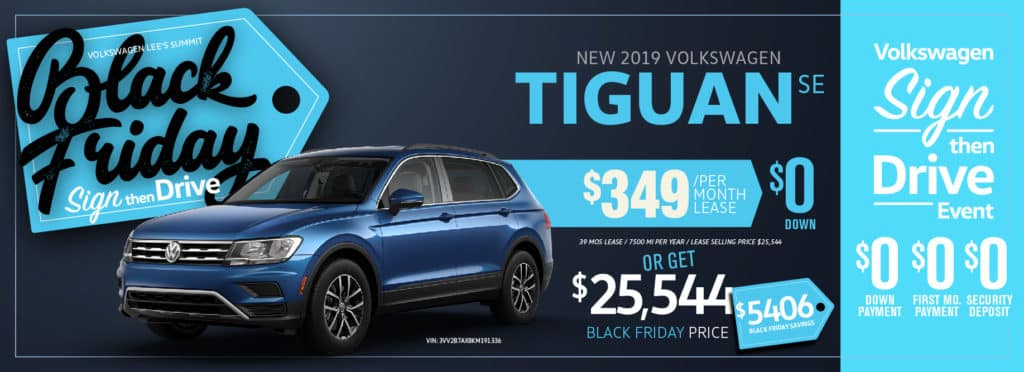 Don't miss our Black Friday Sign Then Drive sale at VW SouthTowne!