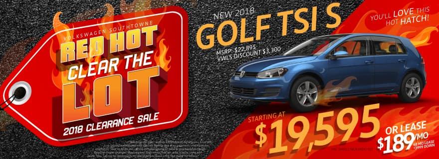 Golf Slider VW SouthTowne