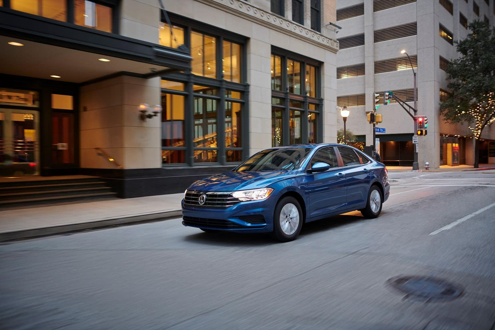 2019 Jetta in the city