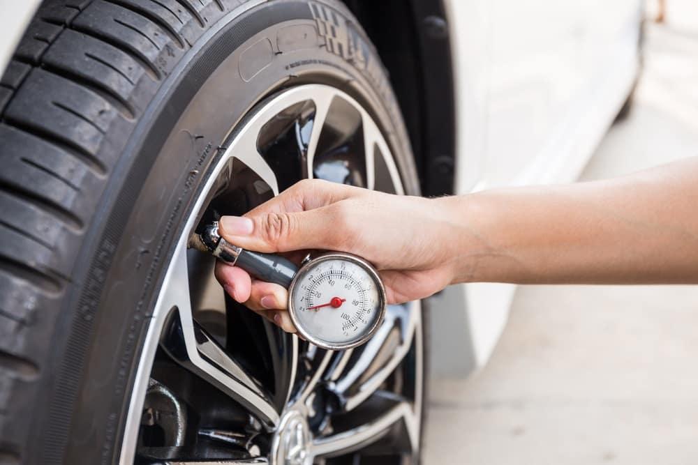 Check Tire Pressure to Save Gas