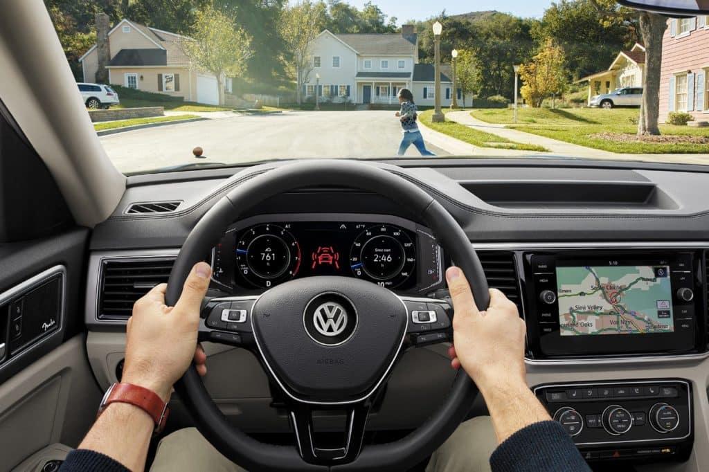 Brake Assist Image of the Volkswagen Atlas