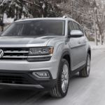 Volkswagen Atlas in Snowy Conditions