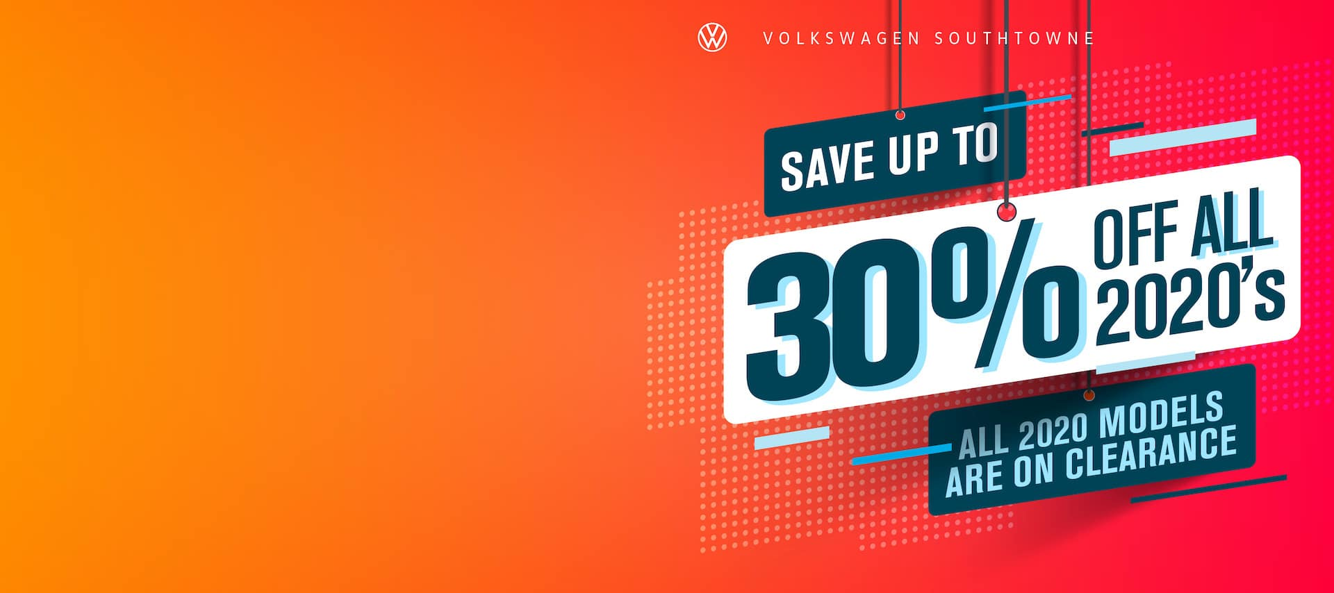 Save up to 30% off on remaining 2020's!