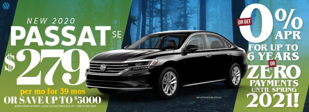 Save thousands on remaining Passat models at VW SouthTowne