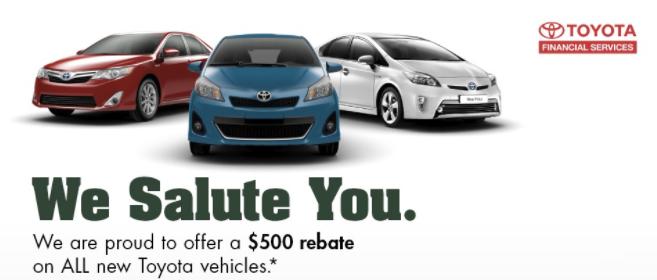 Military Discounts Warrenton Toyota