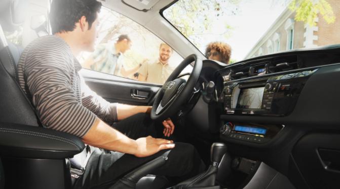 2014 Corolla Interior