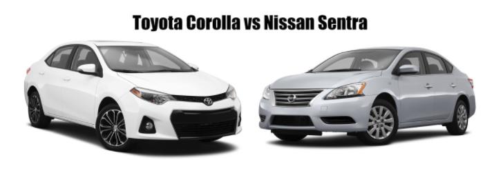 2014 Toyota Corolla vs 2014 Nissan Sentra