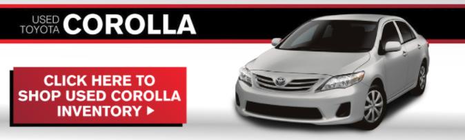 Used Corolla