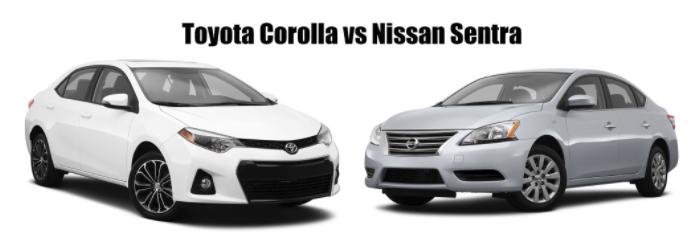 Toyota Corolla vs Nissan Sentra
