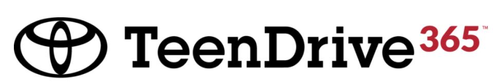 TeenDrive 365 Program