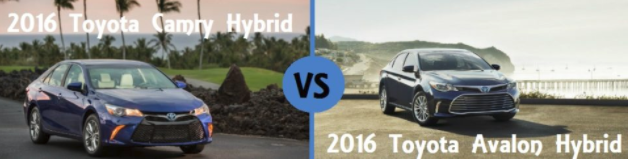 Toyota Camry Hybrid vs Toyota Avalon Hybrid