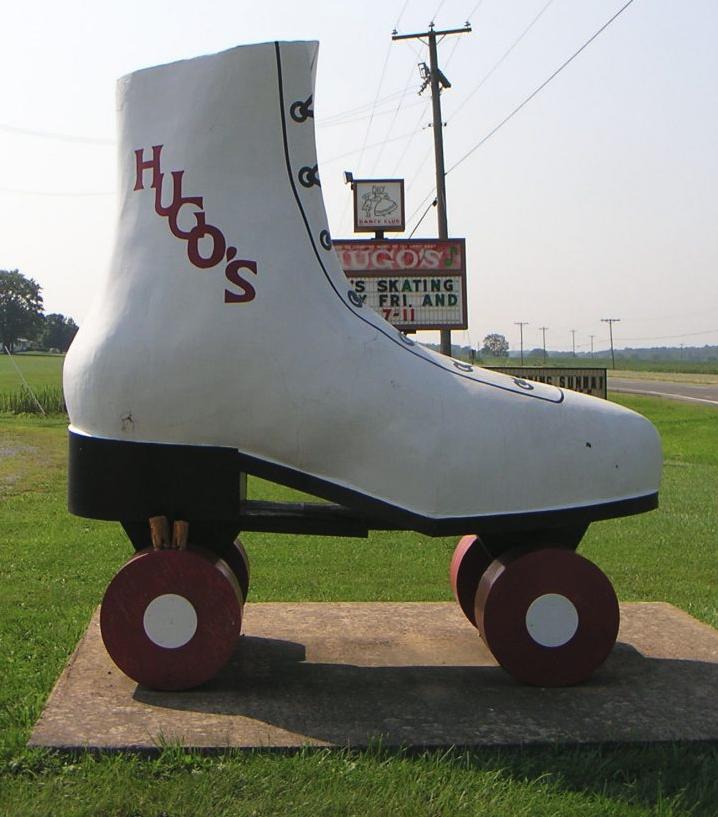 World's Largest Rollerskate