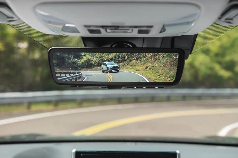 2021 Toyota RAV4 rearview