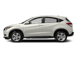 White Honda HR-V