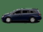Blue Honda Odyssey