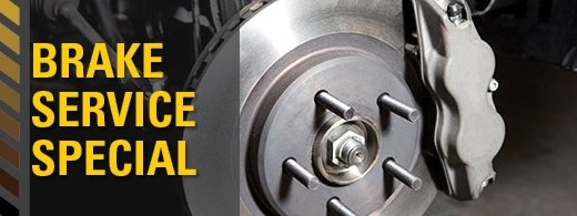 Featured Service Special- Brake Service