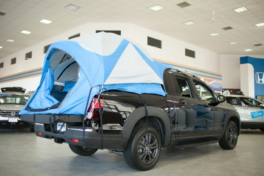 Camp in Style with the Ridgeline!