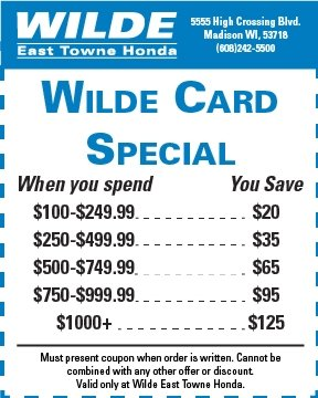 Wilde Card Special