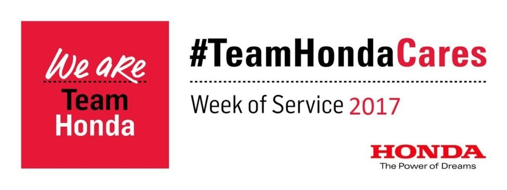 Wilde East Towne Honda in the community for Team Honda's Second Annual Week of Service