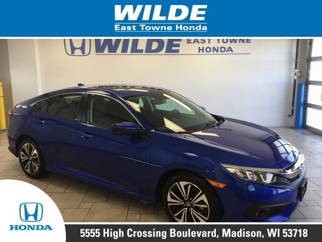 Used 2016 Honda Civic EX-L FWD 4D Sedan