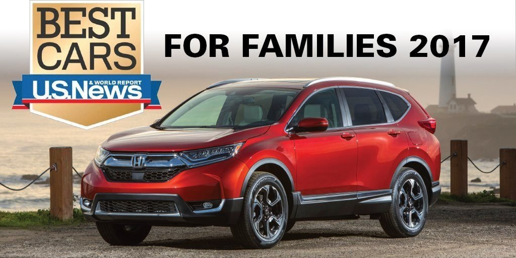 "2017 Best Cars for Families"" by U.S. News & World Report"