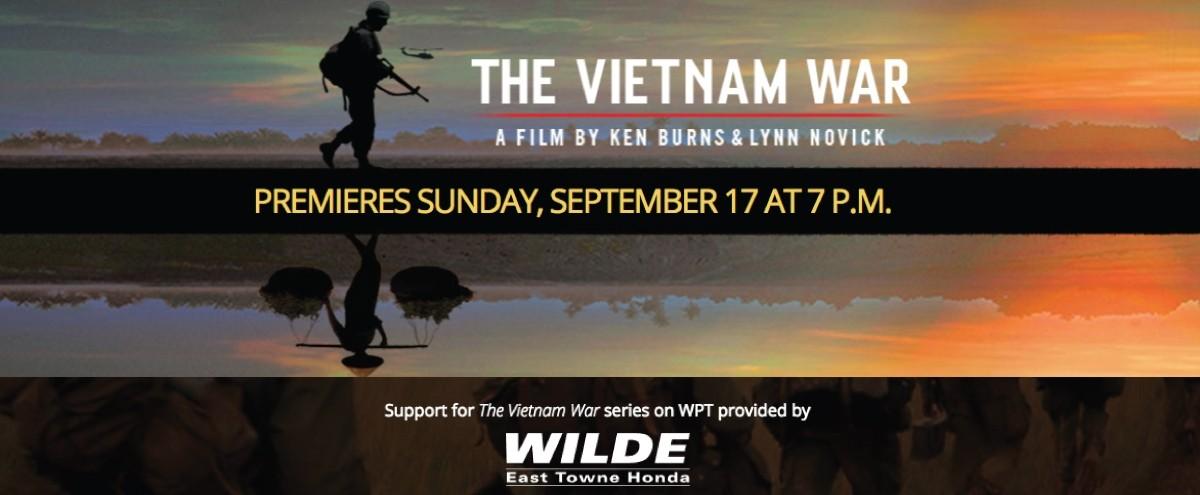 Wilde Supports WPT's New 'Vietnam War' Series