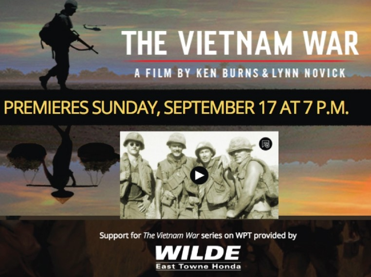 "Wilde Supports WPT's New ""Vietnam War"" Series"
