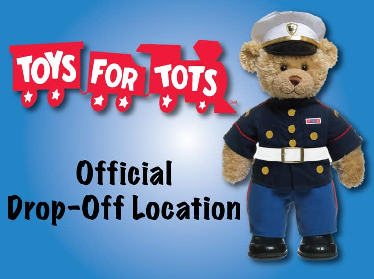 Toys For Tots Official Drop Off Location Wilde East Towne Honda