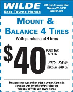 Mount and Balance