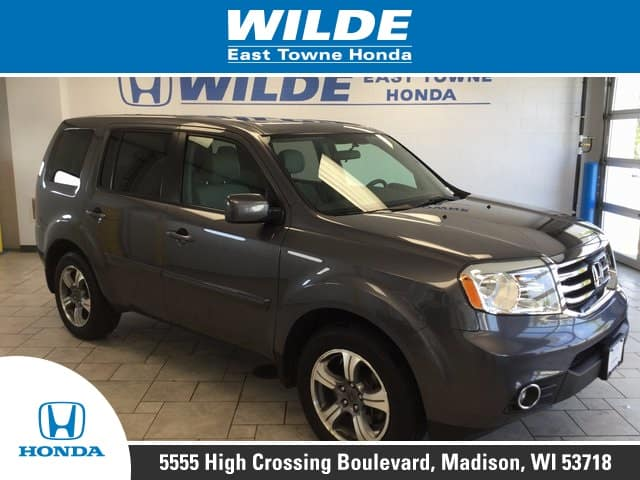 Used Car Of The Week Certified Pre Owned 2015 Honda Pilot Se