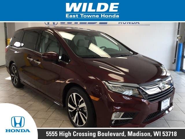 Certified Pre Owned 2018 Honda Odyssey Elite