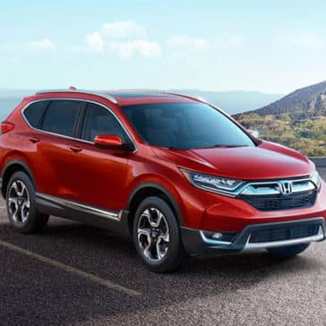 2018 Honda CR-V Red